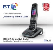 bt synergy 4500 manual download
