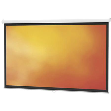 da lite model b manual wall and ceiling projection screen