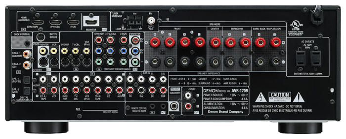 denon avr 1709 manual pdf