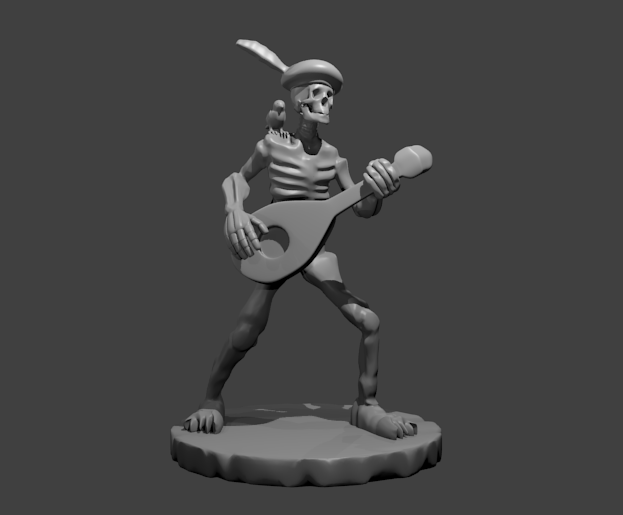 dnd monster manual 3d print models a to z