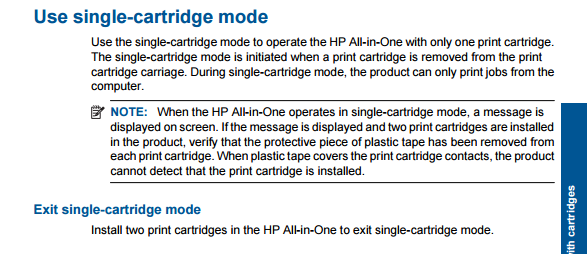 hp fax answer mode manual