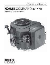 kohler model number cv12.5s manual